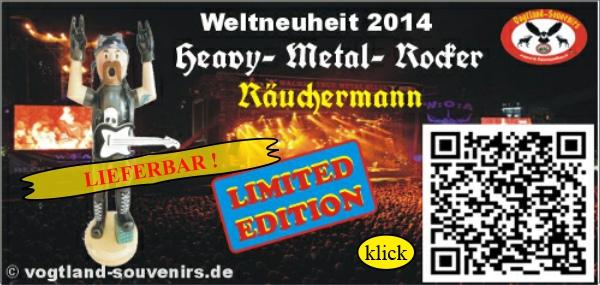 Heavy Metal Räuchermann