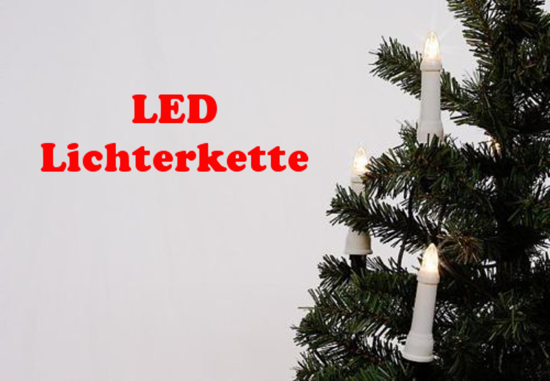 30er led lichterkette kerze f r aussen weihnachtsbaumbeleuchtung vogtland souvenir s. Black Bedroom Furniture Sets. Home Design Ideas