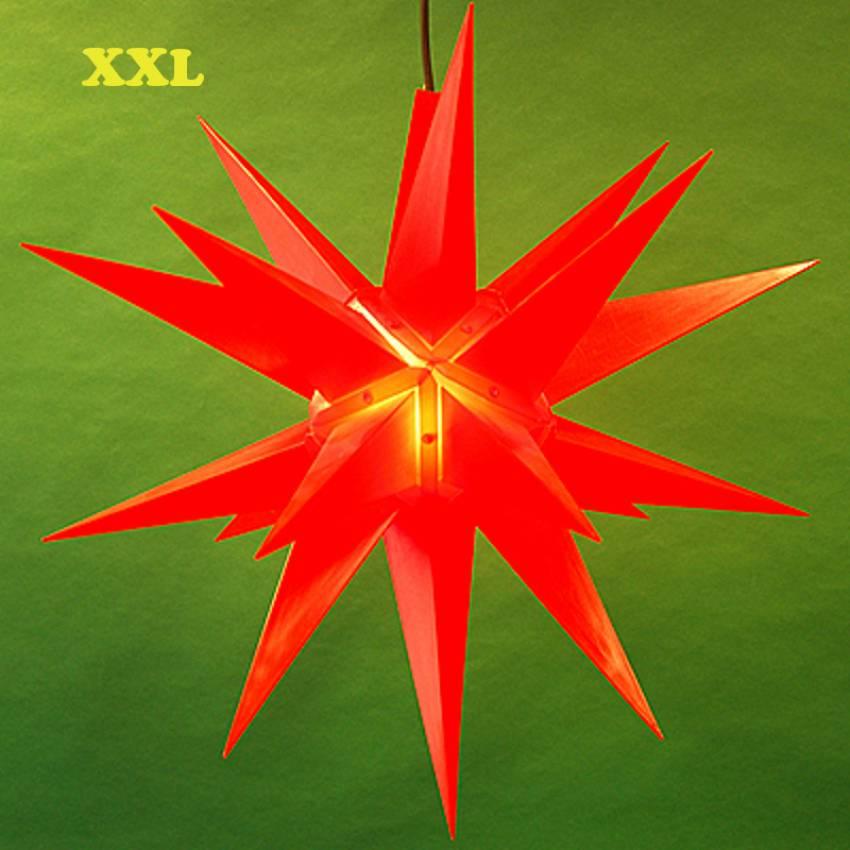 Aussenstern 3d Aussen Kunststoff Adventsstern Weihnachtsstern